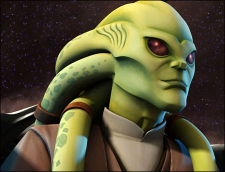 Blue Star Blade Reviews >> Kit Fisto (The Clone Wars) - Maquettes Research Droids ...