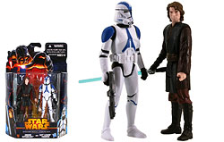 Anakin Skywalker and 501st Legion Trooper (Coruscant) (MS02)