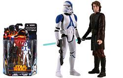 Anakin Skywalker and 501st Legion Trooper (Coruscant) (MS02)