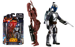 Battle Droid and Jango Fett (Geonosis) (MS03)