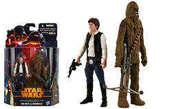 Han Solo and Chewbacca (MS07) - Mission Series
