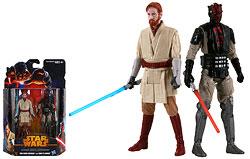 Obi-Wan Kenobi and Darth Maul (Mandalore) (MS06) - Mission Series