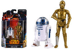 R2-D2 and C-3PO (Tantive IV)  (MS05) - Mission Series