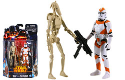 Battle Droid and 212th Battalion Clone Trooper (MS04)