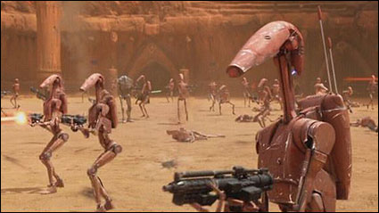 Battle Droid - SW [Y/AOTC] - Movie Heroes (MH04) Research Droids Reviews - JediTempleArchives.com