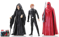 Emperor Palpatine/Luke Skywalker/Emperor's Royal Guard