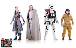 Luke Skywalker (Jedi Master)/Rey (Jedi Training)/Resistance Tech Rose/First Order Stormtrooper Officer