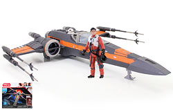 Poe's Boosted X-wing Fighter