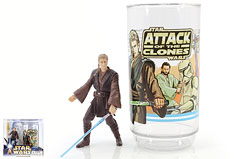Anakin Skywalker Collectible Figure And Cup