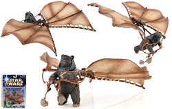 Visual Guide: Ewok with Attack Glider (Assault on Endor)