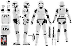 First Order Stormtrooper (Shield & Baton Set)