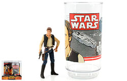 Han Solo Collectible Figure And Cup