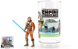 Luke Skywalker Collectible Figure And Cup