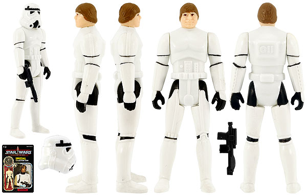 Luke Skywalker (Imperial Stormtrooper Outfit)