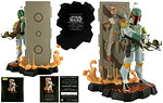 Boba Fett with Han Solo in Carbonite (Entertainment Earth) - Gentle Giant - Maquettes (Star Wars Animated) (2009)
