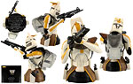 Commander Bly (The Clone Wars) (AFX Exclusive) - Gentle Giant - Mini Busts (2011)