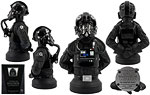 TIE Fighter Pilot [Black Three] - Gentle Giant - Mini Busts (2009)