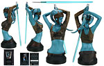 Aayla Secura - Gentle Giant - Mini Busts (2008)