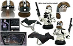 AT-TE Tank Gunner Mini Bust Accessory Pack (Gentle Giant) - Gentle Giant - Mini Busts (2008)