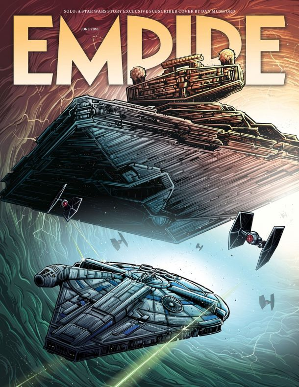 Empire Magazine Solo Cover