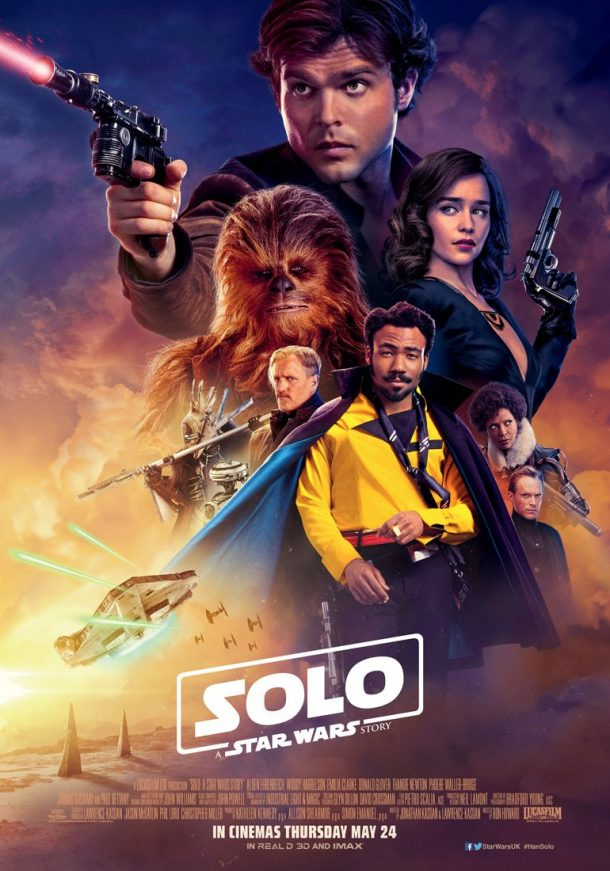 Solo UK movie poster