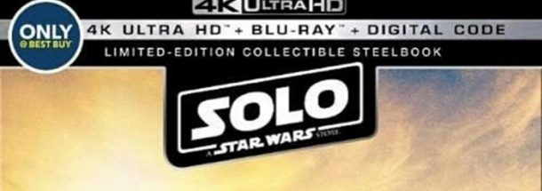 Solo Steelbbok Blu-Ray