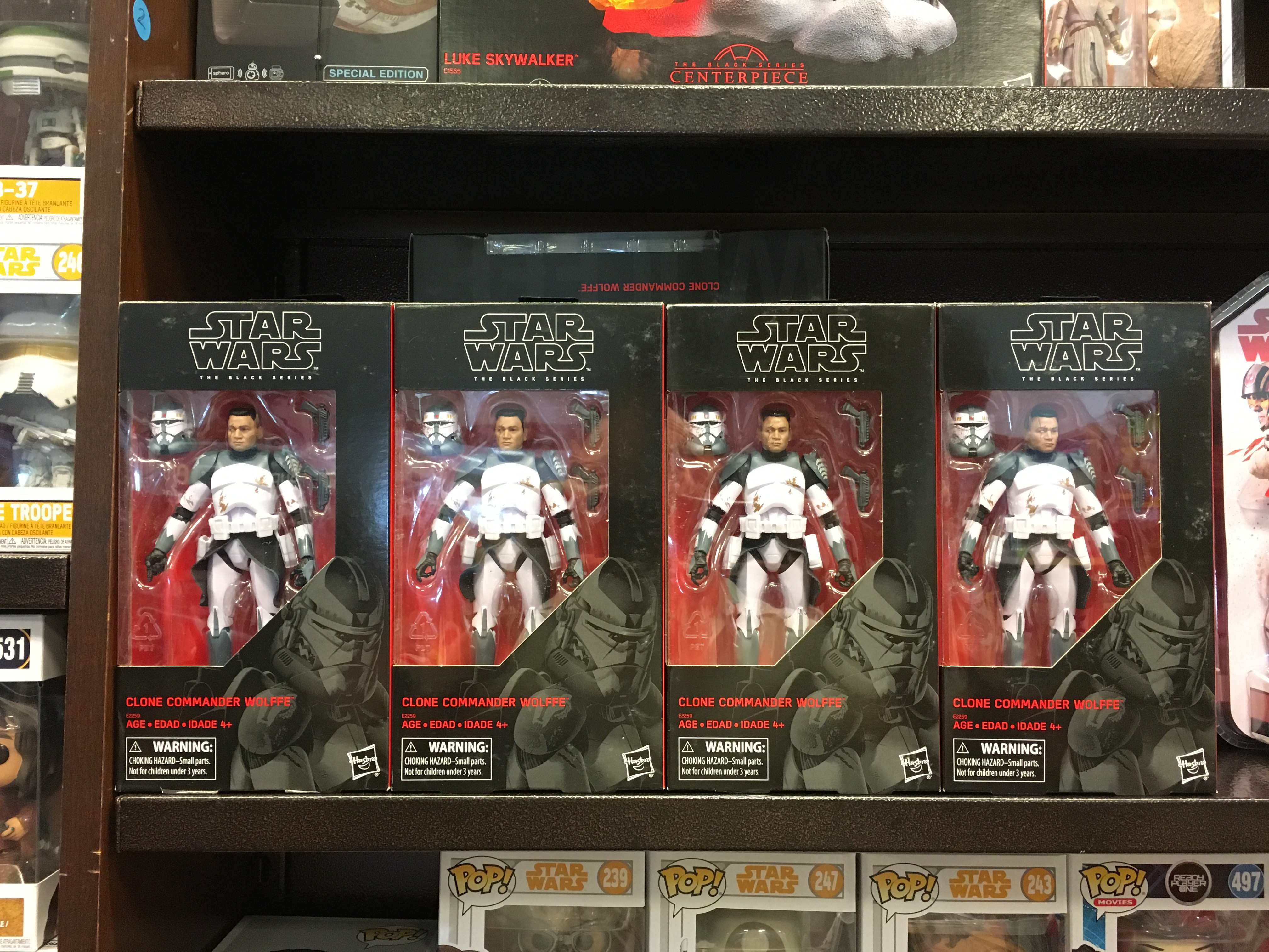 Clone Wars Star Wars The Vintage Collection Clone Commander Wolffe
