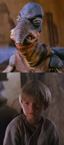 Watto and Anakin