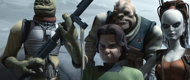 The Clone Wars Bounty Hunters