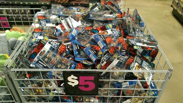 Star Wars toys on clearance