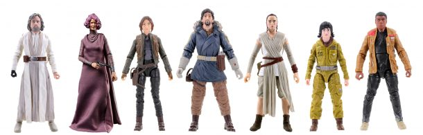 Black Series Star Wars figures