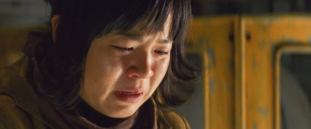Rose Tico crying