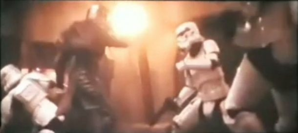 That Stormtrooper will soon have a headache
