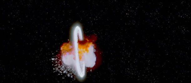 death star explosion