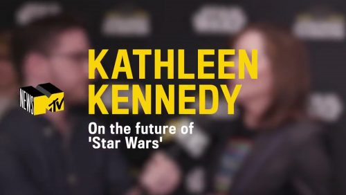 MTV News Interview Kathleen Kennedy