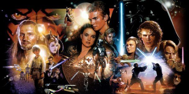 Star Wars Prequels Poster Art