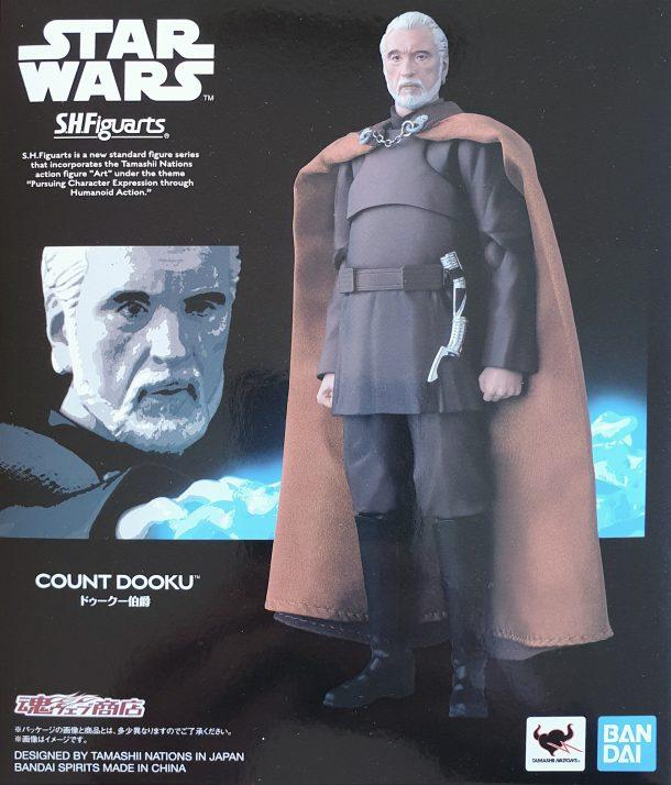 SH Figuarts Count Dooku