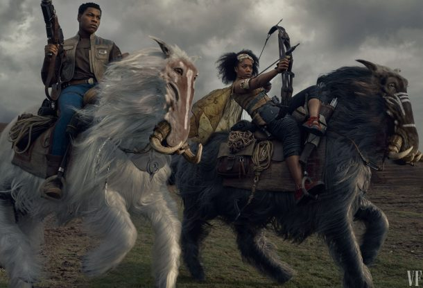 Finn and Jannah, The Rise of Skywalker