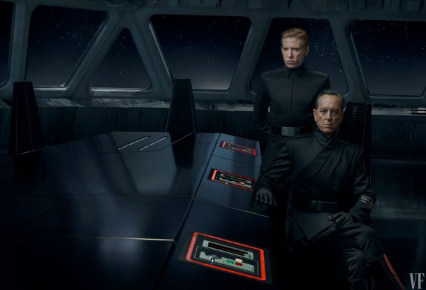 Hux and Allegiant General Pryde, The Rise of Skywalker