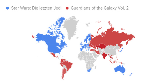 Google Trends Star Wars