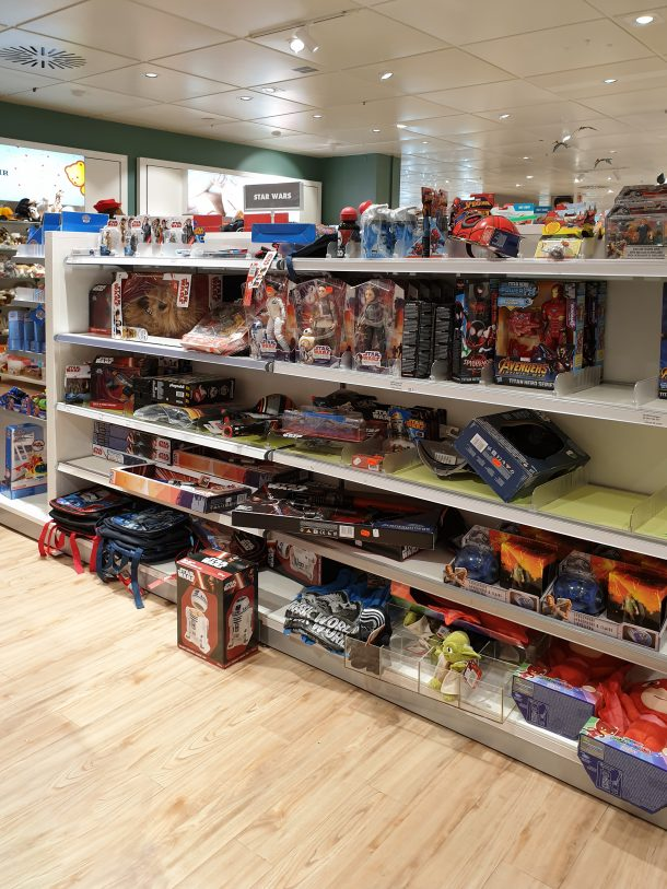 Star Wars Toy Shelf
