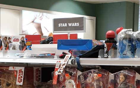 Star Wars Toy Shelf