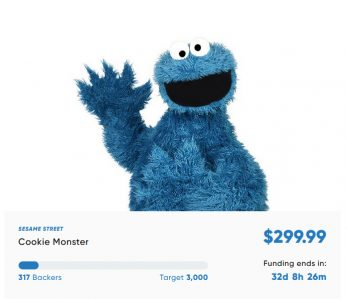 Cookie Monster Hasbro Haslab