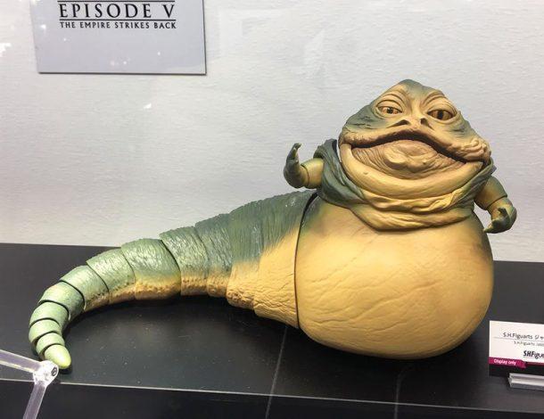 SH Figuarts Jabba The Hutt Prototype
