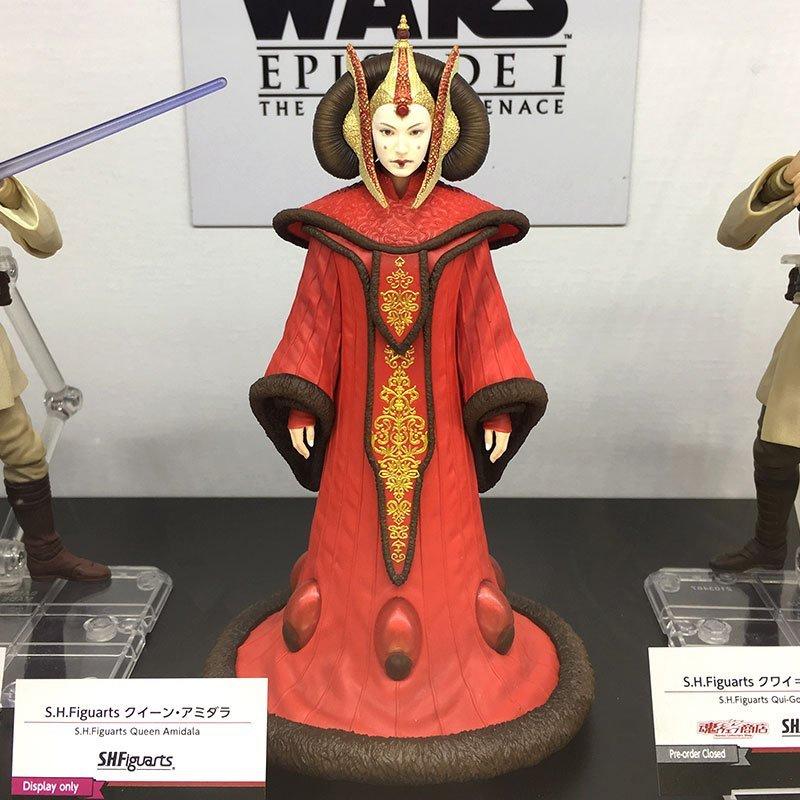 SH Figuarts Queen Amidala Prototype