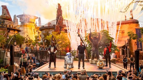 Galaxy's Edge Orlando Dedication Ceremony