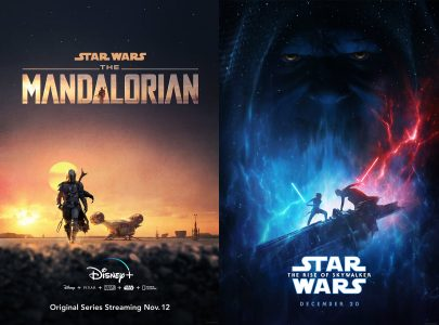 Mandalorian and Rise of Skywalker poster