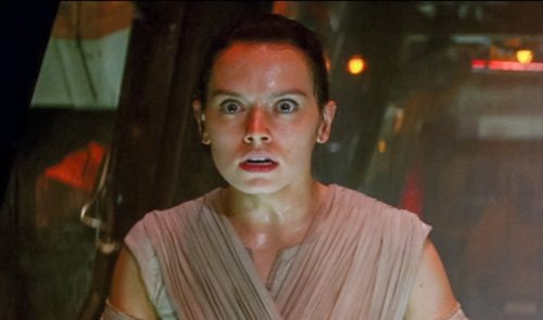 Rey is shocked