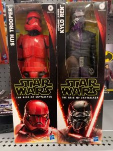 12 inch Sith Trooper and Kylo Ren