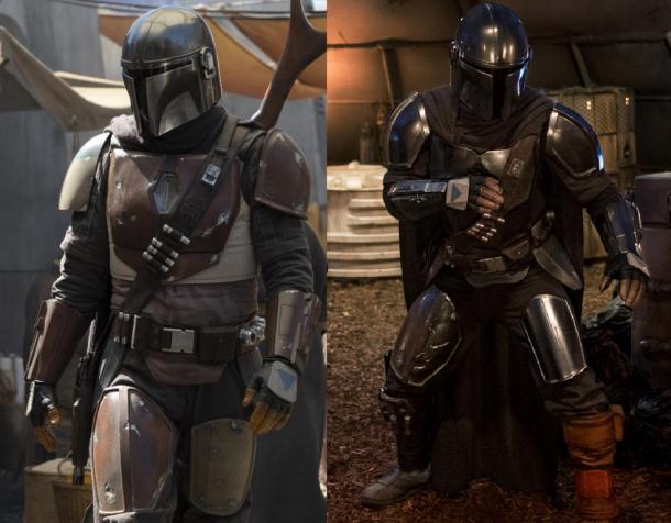 Mandalorian armor comparison